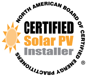 NABCEP PV Solar Installation Professional Certification
