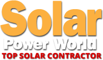 Solar Power World Top Contractor